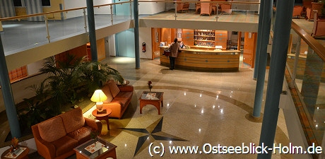 Lobby Ostsee Appartements Holm